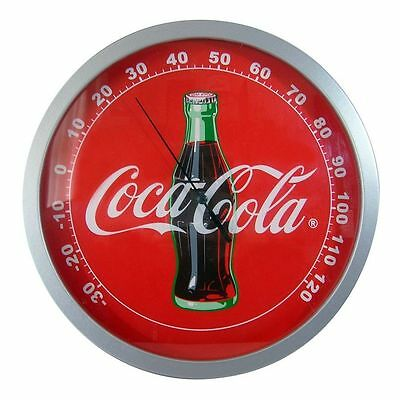 Coca-Cola Contour Bottle Round Thermometer