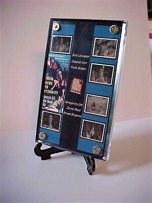 Burt Lancaster Frank Sinatra From Here To Eternity 6 Frame Movie Display WWII