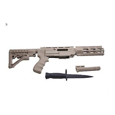 ProMag Archangel Stock Desert Tan Tactical Mag Release 6 Pos. 10/22 AA556R-DT