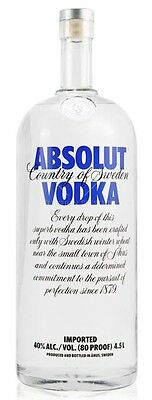 Absolut Vodka (1 x 4500mL)