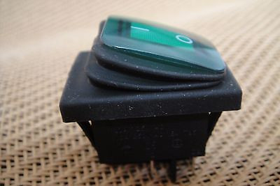 Waterproof Outdoor Boat AC 110v-120v-250v 16A Indicator Light Rocker Switch SPDT