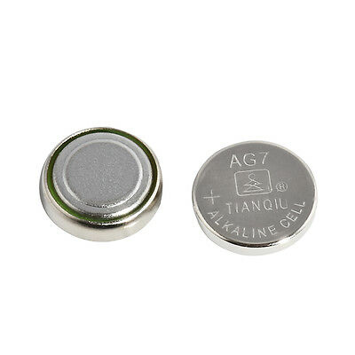 10Pcs/lot 395 SR927 399 SR927W LR927 AG7 Alkaline Watch Battery Button Coin Cell