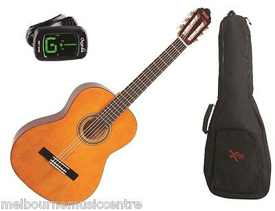 VALENCIA THREE QTR (1/2) GUITAR PACK *Inc Guitar, Padded Bag, ClipOn Tuner* NEW!