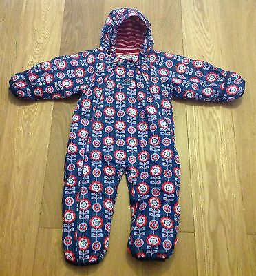 Jojo Maman Bebe Waterproof Fleece Lined All-in-One Snowsuit (12-18 months)