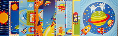 "*SPACE*  Scrapbooking Papers  x 10 - BOY THEME - 30cm x 30cm - (12"" x 12"")"