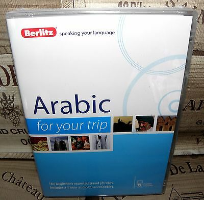 """Arabic """"For Your Trip"""" Beginners Language Audio CD, Berlitz Learning"""