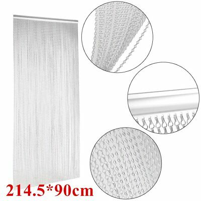 Silver Aluminium Metal Chain Link Pest Control Insect Screen DOOR FLY CURTAIN CY