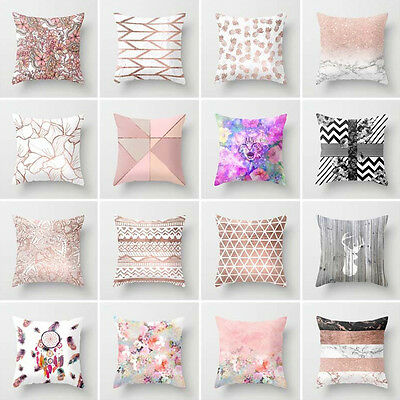 Modern Abstract Pillow Case Cover Sofa Waist Cushion Cover Home Decor Fashion