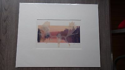 Rare Signed and Numbered Print by Alain Briot Of  Isle Royal