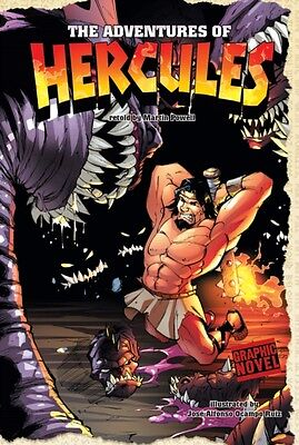 The Adventures of Hercules (Graphic Myths) (Hardcover), Powell, Martin, 9781406.