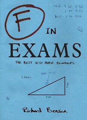 F in Exams: The Best Test Paper Blunders: The Funniest Test Paper Blunders (Pap.