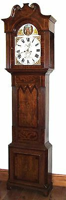Antique ROCKING FATHER TIME Longcase Grandfather Clock : HAY WOLVERHAMPTON