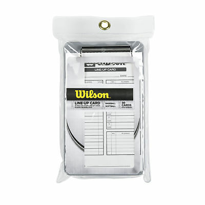 Wilson 30-Pack of Baseball/Softball Boxed Line-Up Cards