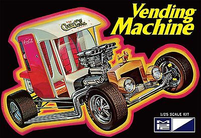 Coca-Cola Vending Machine Show Rod 1/25 scale skill 3 MPC plastic model kit#871
