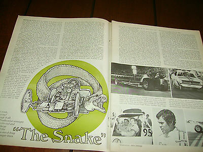 1970 Don Prudhomme The Snake   ***original Article***
