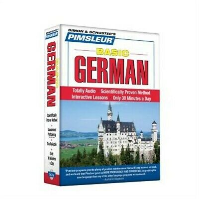 Pimsleur German Basic Course - Level 1 Lessons 1-10 CD: Learn to Speak and Under
