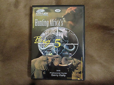 Hunting Africa's Big 5 African Hunting DVD with Garry Kelly Safari