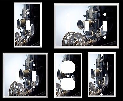Vintage Movie Camera Projector Light Switch Cover Plate