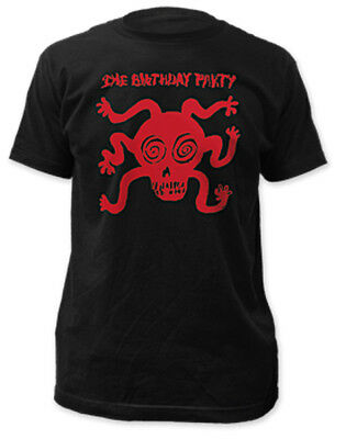 The Birthday Party - Pleasure Head Black T-shirt - NEW - Nick Cave (Official)