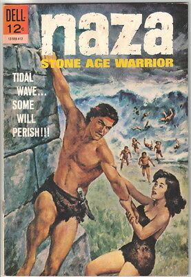 Naza Stone Age Warrior Comic Book #4 Dell 1964 FINE+