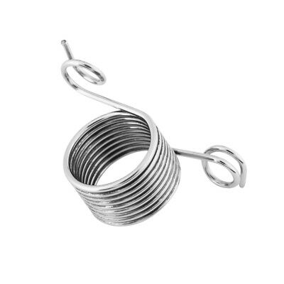 Practical Yarn Spring Guide Metal Braided Knuckle Assistant Knitting Thimble coi