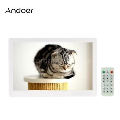 "Andoer 13"" TFT LED HD Digital Photo Frame Album MP3 MP4 Movie Player Alarm Clock"