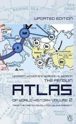NEW The Penguin Atlas Of World History by Hermann Kinder BOOK (Paperback)