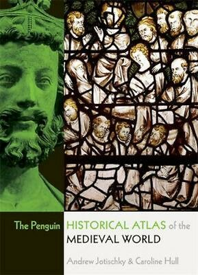 NEW The Penguin Historical Atlas Of The Medieval World by... BOOK (Paperback)
