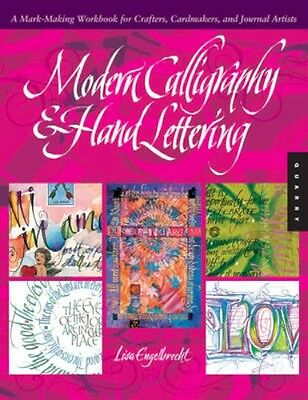 NEW Modern Calligraphy And Hand Lettering by Lisa Engelbrecht BOOK (Paperback)