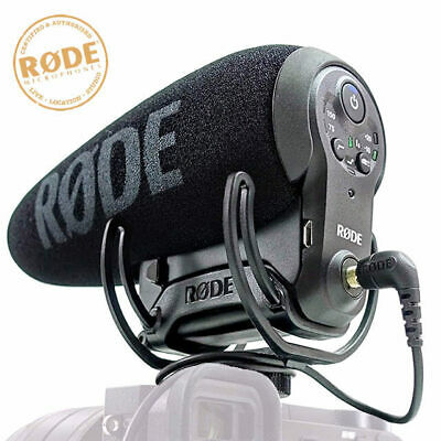 Rode VideoMic Pro Plus + Compact Directional On-camera Microphone with rechargea