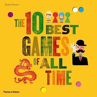 The 10 Best Games of All Time (Hardcover), Navarro, Angels, 9780500650127