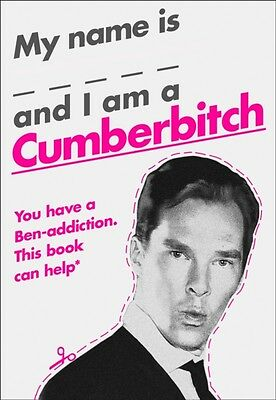 My Name Is X and I Am a Cumberbitch (Hardcover), 9780008149338