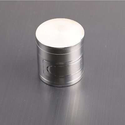 63mm Tobacco Herb Spice Grinder 4 Piece Herbal Smoke Metal Zinc alloy Multifunct