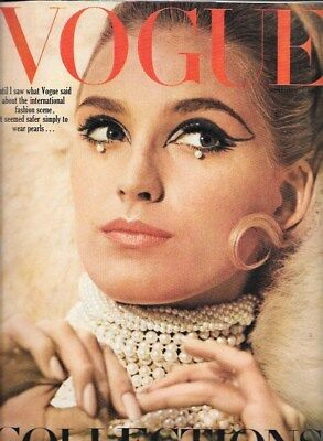 1965 September VOGUE Collections Issue 60s vintage fashion Paris couture YSL