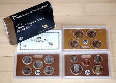 KMS 2011 USA United States Mint Silber Proof Set