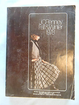 vintage catalog JCPENNEY JC PENNEY PENNEYS 1978 fall winter