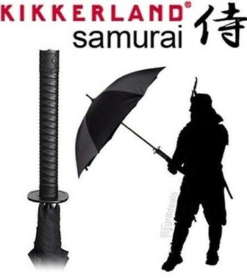 Samurai Umbrella Katana Ninja Sword Handle & Sheath w/ Strap by Kikkerland Rain