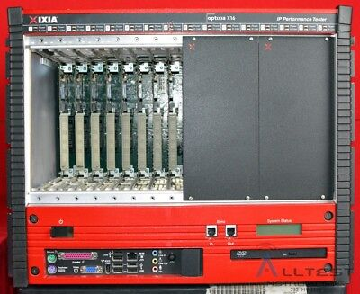 Ixia Optixia X16 IP Network Tester Mainframe