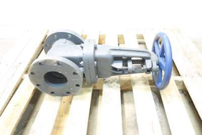 New Nibco F-617-O Iron Flanged Wedge Gate Valve 4 In 125 D572420