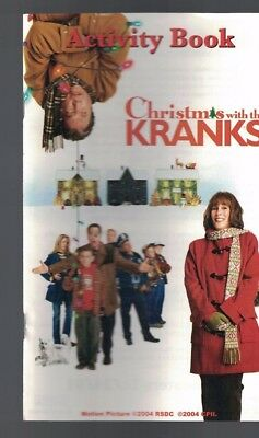 Christmas with the Kranks Activity Book 2004 Tim Allen Jamie Lee Curtis
