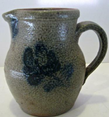 Rowe Pottery Works 1983 Flower Pitcher