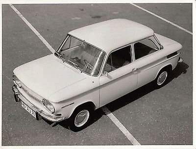 Nsu Prinz 1000 L.h.d. Two Door Saloon Period Photograph.  .