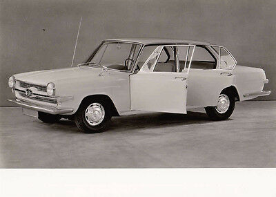 Glas 1500 Four Door Saloon, Period Photograph.