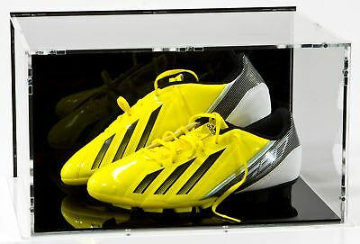 SORA Double Football Boot / Football Shoe Case with Shoe-Stands, Back: Black