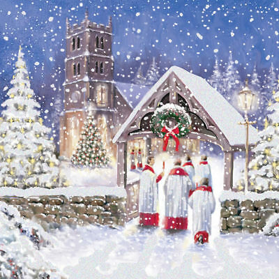 The Air Ambulance service Charity Christmas Charity Card - Christmas Eve 10 Pack