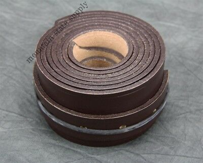 U.S. Civil War Reenactors Brown Leather Cartridge Ammo Box Sling Strap Repro