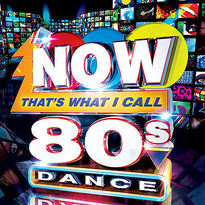 Various Artists : Now That's What I Call 80s Dance CD (2013) ***NEW***