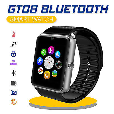 Smart Watch GT08 Bluetooth Armband Uhr Kamera für Android Smartphone SIM Handy