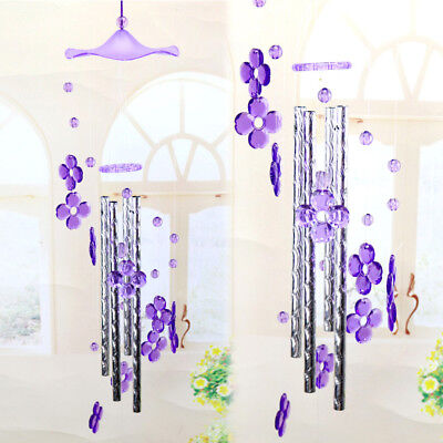 Heart Plastic Wind chime Dophin  Home Garden Decor for Lover Valetines Gifts SK