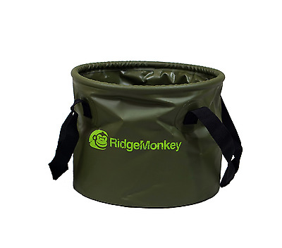 Ridgemonkey NEW Collapsible Compact Carp Fishing Bait Bucket Ridge Monkey 15 ltr